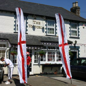 England Feather Flag Kit