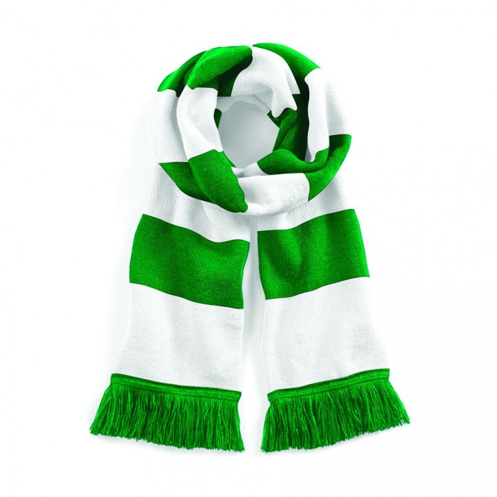 Irish Rugby Scarf Ireland Scarf for Rugby and Soccer fans Green