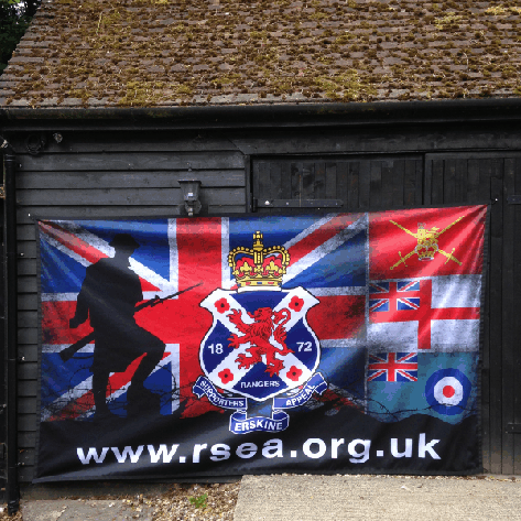10ft x 6ft (3.05m x 1.83m) Flag: Custom Design