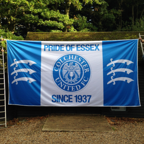 20ft x 10ft (6.10m x 3.05m) Football Flag