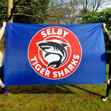 8ft x 5ft (2.44m x 1.52m) Lightweight Football Flag