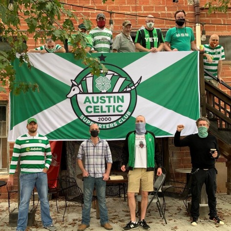 Austin Celtic Supporters Club with worldwide shipping