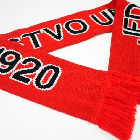 3 colour football scarf