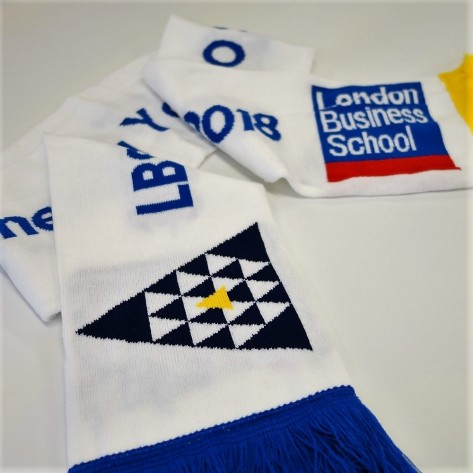 8 colour football scarves