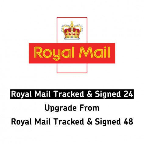 Royal Mail 24 Tracked and Signed (Upgrade from Royal Mail 48 Tracked and Signed)