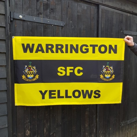 Warrington SFC Lightweight Football Flag