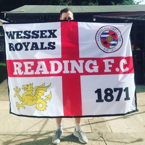 Wessex Royals 6ft x 4ft Flag