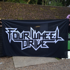 14ft x 8ft (4.26m x 2.44m) Football Flag