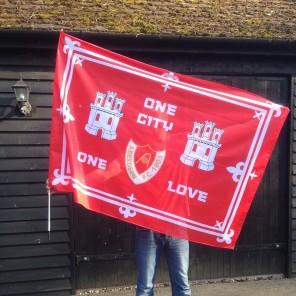 150cm x 100cm Stick Flag