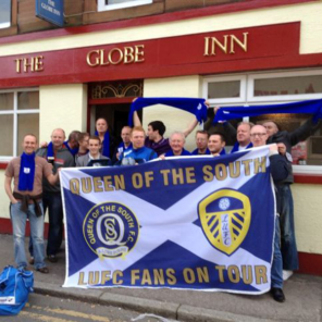 Leeds football flag