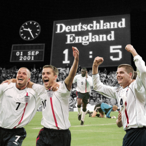 England vs Germany Flag 5ft x 5ft