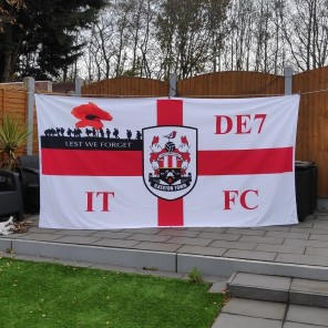 10ft x 5ft (3.05m x 1.52m) Football Flag
