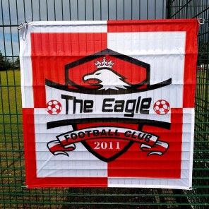 Custom Size Heavyweight Football Flag (150gsm)