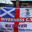 Inverness football flag