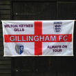 Gillingham football flag