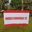 Middlesbrough Lightweight Football Flag