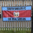 South Shields 6ft x 3ft Football Flag