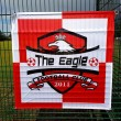 The Eagles Custom Size Football Flag
